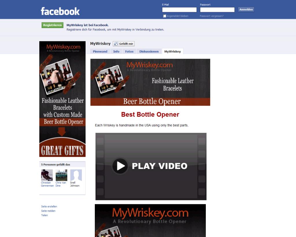 MyWriskey.com Facebook Fanpage